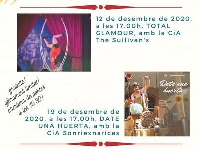 Actuacions de Circ al Centre Cívic