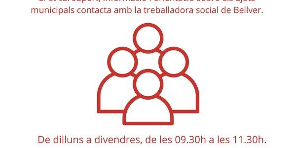 Ampliació de l'horari de Serveis Socials