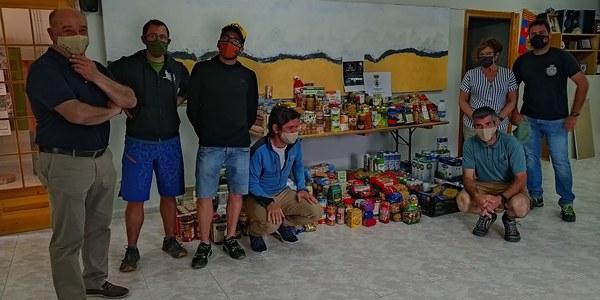 Donen 700 kg d'aliments a Bellver