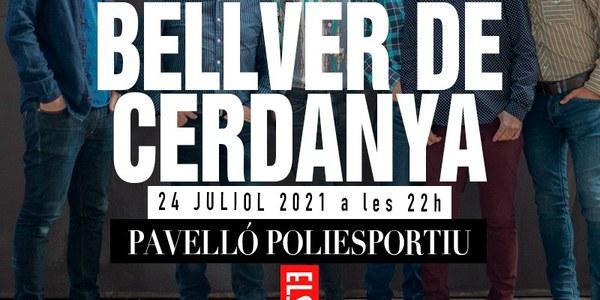 El grup tocarà a Bellver la nit del 24 de juliol.
