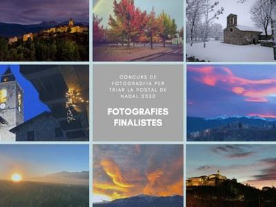 Fotografies presentades al concurs per triar la foto de la postal de Nadal