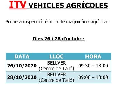 ITV de tractors