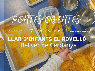 Jornada de portes obertes a la Llar d'Infants El Rovelló