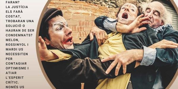 Los Galindos porten a Bellver l'espectacle Mort de Riure
