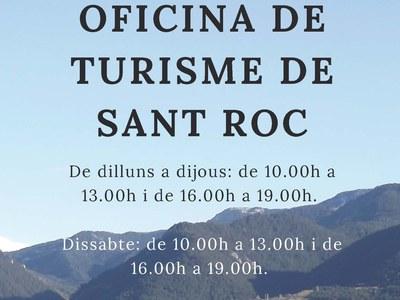 Obertura de l'Oficina de Turisme de Sant Roc