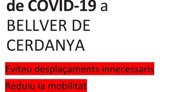Recomanacions davant l'increment de casos de Covid-19