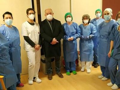 Vacunació de Covid-19 a la Residència de Bellver